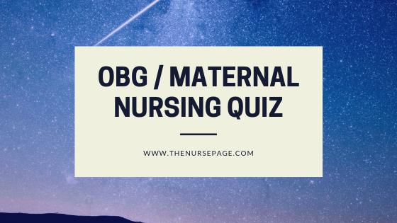Obstetrics Nurse