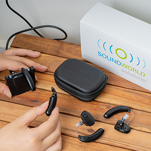 sound world solutions rechargeable sound amplifier